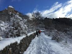 Reco de la Menthonnaise sur neige