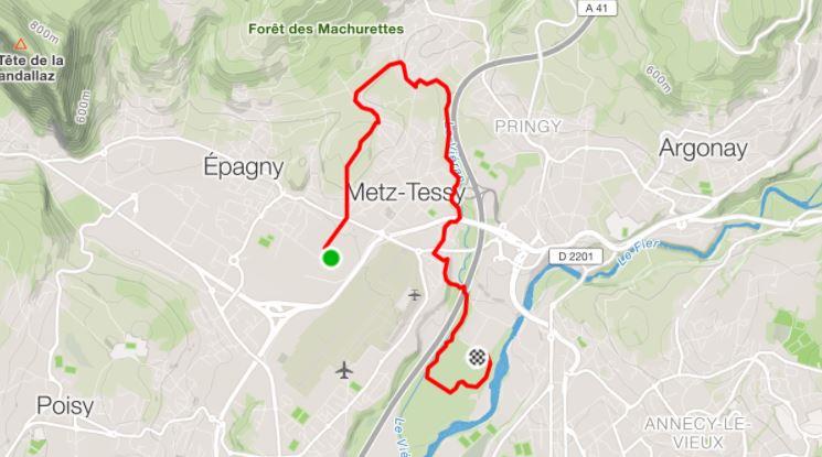 Parcours Machurun 8 km